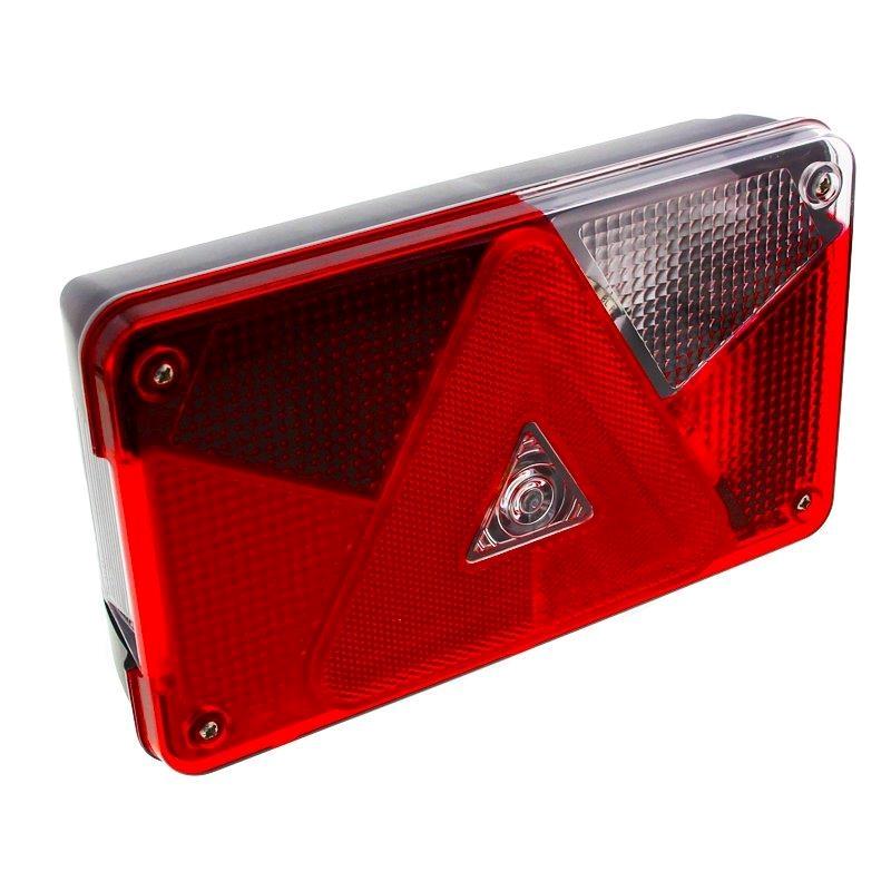 Forskellige Aspöck Multipoint 5 LED | Trailer lys med baklys | 5 pol IS17